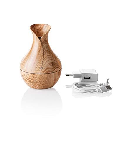 Aroma-Diffuser | Duftspender und Raumluftbefeuchter | für ein angenehmes Raumklima | naturnahe Holzoptik