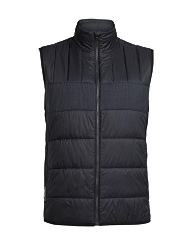 Icebreaker Herren Weste Stratus X Vest, Black/Jet HTHR, M, 103878002M