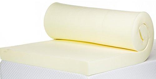 Bodymould Memory Foam Mattress Topper, 4 Inch, UK Double