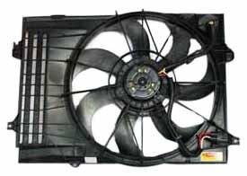 TYC 621050 Hyundai/Kia Replacement Radiator/Condenser Cooling Fan Assembl