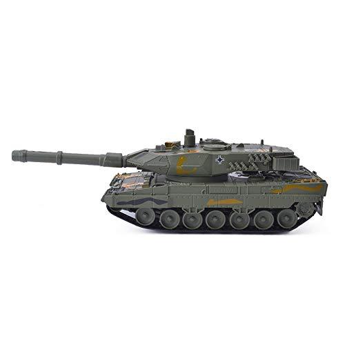 Alloy Tank World Military Simulation Model Tank Artillery Armored Car Aircraft Children Toy Car-German Leopard Main Battle Tank