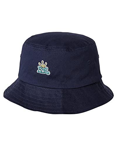 HUF Crown - Gorro reversible (talla L/XL), color azul marino