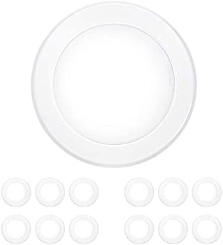 12-Pack Hykolity 6 Inch LED Recessed Lighting