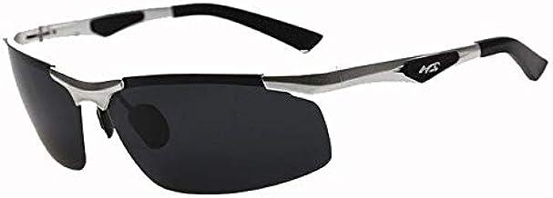 Silver : Military Tatical Cycling Goggles Aluminum Magnesium Driving Sunglasses Men's Polarized Sunglasses Outdoor Sports Cycling Glasses