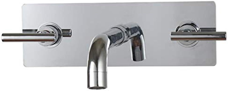 Wasserhahn Waschtischmischer 2018 Weit Verbreitet Zeitgenssische Badezimmer Waschbecken Sanitr 3 Stücke Wandmontage Wasserhahn Mischbatterie
