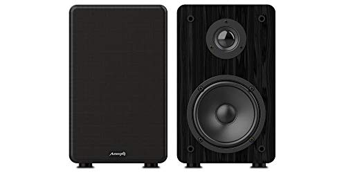 Audibax Altavoces HiFi Signature S1E , Monitores de Estudio o Caseros, 2 Vias Reflex, Potencia 100 W, Altavoves Activos Envolventes o Estéreo, Vienen en Pareja, Adecuado para Equipo de Sonido