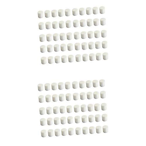 Fenteer 100pcs Éponges Soilless Hydroponique pour Système de Culture Graines DIY Taille