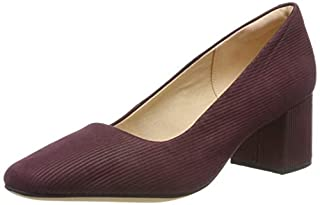 scheda clarks sheer rose, scarpe con tacco donna, marrone (burgundy int re st burgundy int re st), 38 eu