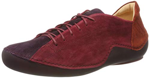 Think! Damen KAPSL_585063 Sneaker, Rot (Vino/Kombi 37), 39 EU