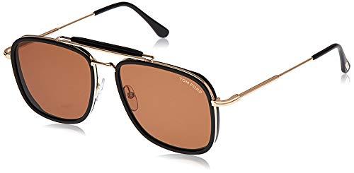 Tom Ford FT0665 Black/Brown Lens Sunglasses