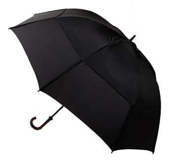 GustBuster Doorman 62  Umbrella  Black