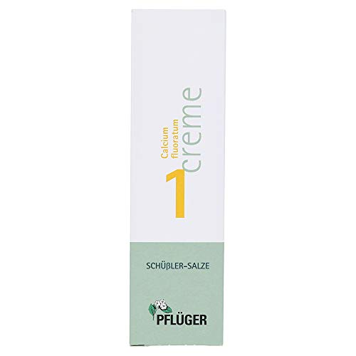 Biochemie Pflüger 1 Calcium fluoratum Creme, 75 g