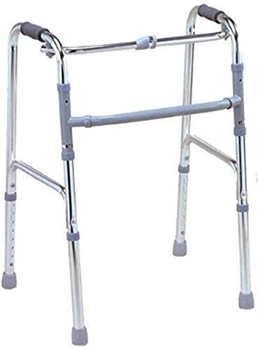 Bastón, Sillas De Ruedas Ligeramente Ajustable Conducción Asistida para Caminar Médico, Andador De Aluminio Muletas para Sillas De Ruedas Ancianos Durables