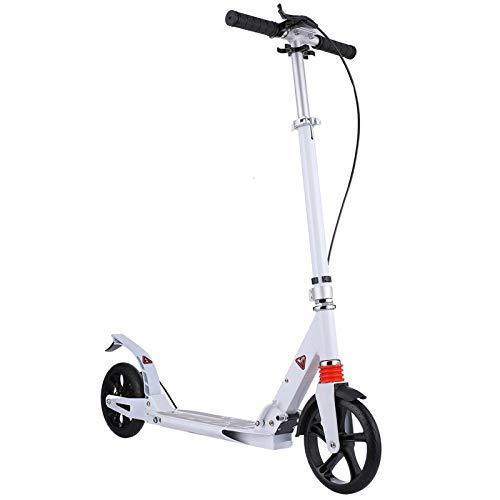 Roller Erwachsene aus Aluminiumlegierung Klappbar und Höhenverstellbar mit Scheibe 200mm Big Wheel einstellbar...