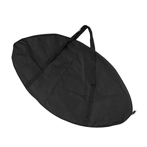 Bolsa de Almacenamiento de Trampolín Portátil, Oxford Impermeable Organizador a Prueba de Polvo Plegable, Accesorios de Trampolín Portátil, Dos Tamaños a Elegir, Negro,104 * 57cm