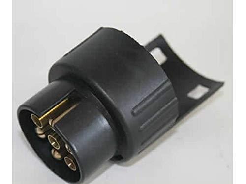 HAFIX Adapter für PKW und Anhänger 7 auf 13 Polig (Adapter - Anhängerkupplung von 7 – Pin Auto auf 13 - Pin Anhänger)
