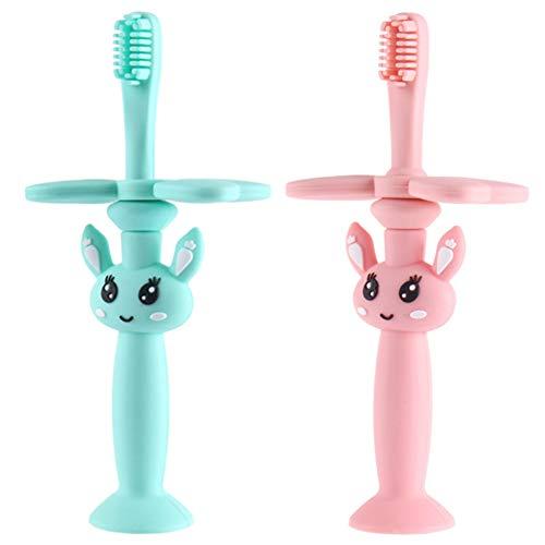 Baby Zahnbürste-WENTS Kaninchenform Zahnbürste 100% BPA-frei Spielzeug Geschenk