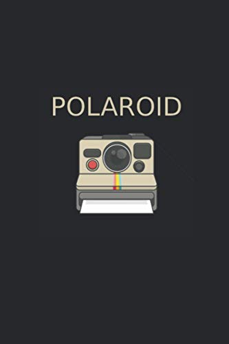Polaroid: Notebook with 120 pages (lined), 6x9 inches (15,24 x 22,86 cm)