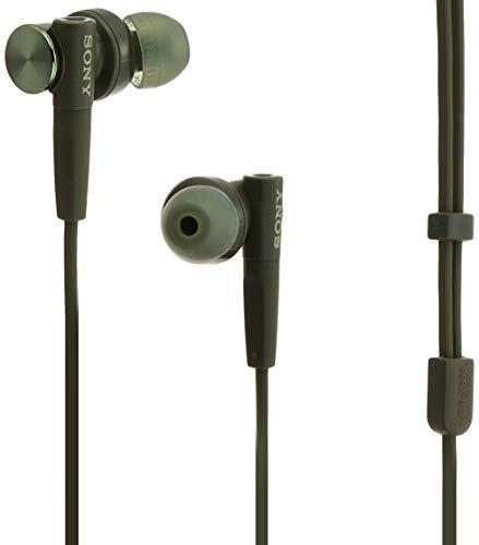 ソニー SONY イヤホン 重低音モデル MDR-XB55 : カナル型 グリーン MDR-XB55 G