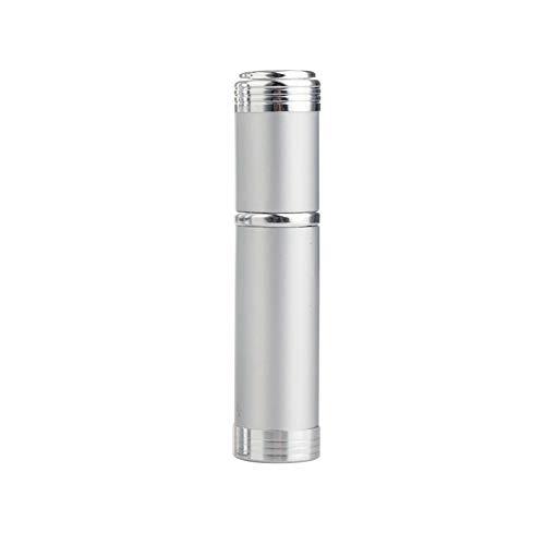 jingxiaopu Botella De Perfume Botella Spray Pulverizador PortáTil Bote Spray Pulverizador Recargable Pulverizador Agua A Prueba De Fugas para LíQuida Perfume Silver
