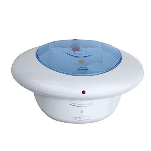 Automático dispensador de jabón 700 ml de Capacidad de detección de Infrarrojos de Pared automático dispensador de jabón Instalaciones de Hotel Salud (Color : White, Size : One Size)