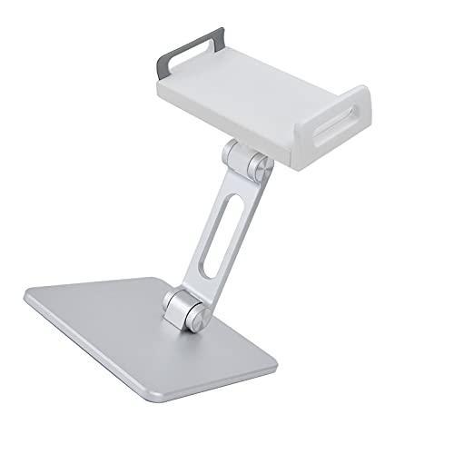 Tabletstandaard, tablethouder Draagbaar 150° opvouwbare arm Opvouwbaar 360° rotatie voor verschillende tablets en…
