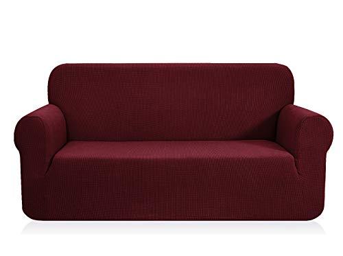CHUN YI 1-Pezzo Elasticizzato Jacquard Copridivano Coprisofà Sofa Cover Jacquard per Casa Decorativa (XL Divano, Azzurro)