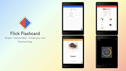 『単語帳メーカー 画像対応 Flick Flashcard』の5枚目の画像