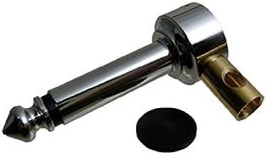 HKM 6.3mm パッチ用 エル型Phone Plug 【L111ラージ】モノラルプラグ 対応ケーブルΦ5mm-Φ6mm 日の出光機製作所