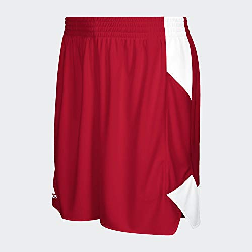 adidas Womens Crazy Explosive Short Shorts, Mujer, Power Red/White, M