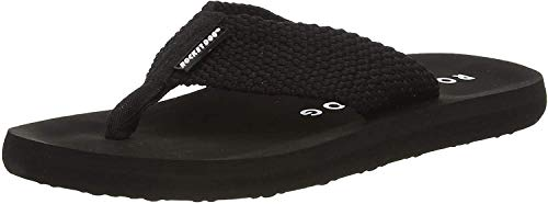 Rocket Dog Women's Adios Flip Flops, Webbing Black, 8