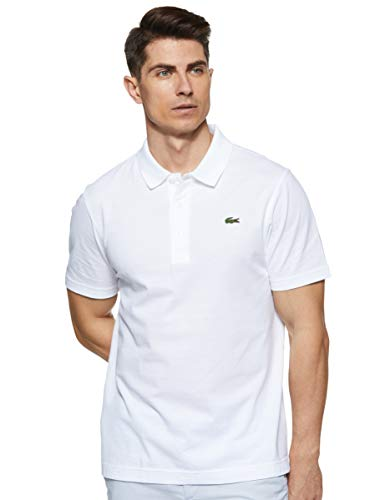 Lacoste Sport L1230 Polo Sport Ultraleggera, Bianco (White 001), Medium Uomo