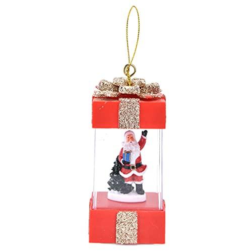 FOLOSAFENAR Linterna Colgante, Linterna De Navidad Exquisito Modelado para Decoraciones Navideñas