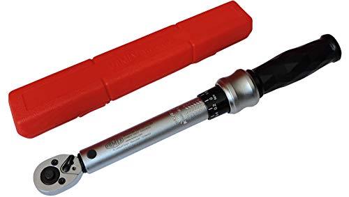 Famex 10872 Drehmomentschlüssel, 6,3 mm (1/4-Zoll)-Antrieb, Messung in beiden Drehrichtungen, 6-30 Nm