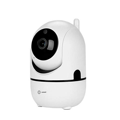 Camara IP WiFi motorizada auto seguimiento Full HD H265 Wonect M3A Mini Pequeño tamaño Facil de configurar con visión remota desde el teléfono móvil con APP