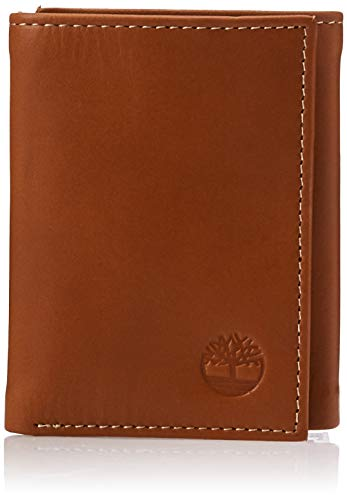Timberland mens Timberland Cloudytrifold wallets, Tan (Cloudy), One Size US