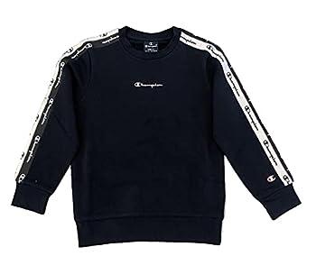 Champion American Tape Crewneck Sweater, Bleu Marine, 15-16 Ans Garçon