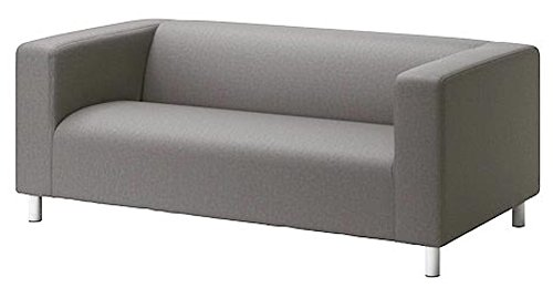 The Klippan Loveseat Cover Replacement is Custom Made Compatible for IKEA Klippan Loveseat Slipcover, A Sofa Cover Replacement. Cover Only! (Lighter Gray)