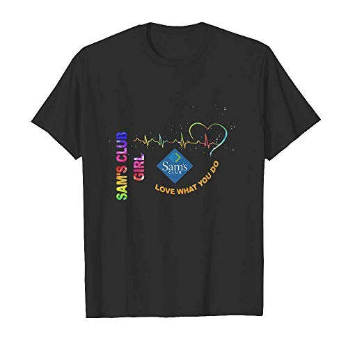 Samâ€s Club Girl Love What You Do Heartbeat Short Sleeve T Shirt, Hoodie for Men Women