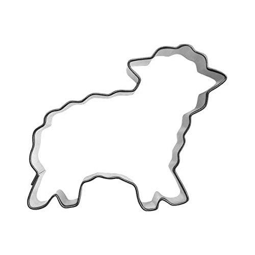 Ausstechform Schaf, 7,5cm Weissblech