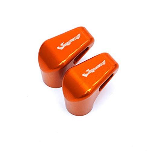 JINBINB / Ajuste para HON.DA XL1000 V Varadero XL1000 1999-2013 Motocicleta Última Rueda Válvula de neumático Válvula Tapas de Tallo Cubiertas herméticas (Color : Orange)