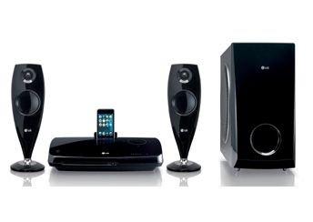 LG HT33S - Equipo de Home Cinema de 300W, negro (importado)