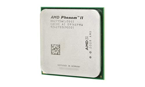 AMD Phenom II x4 810 QuadCore AM3 Retail - Procesador (AMD Phenom, 2,6 GHz, Socket AM3, 64 bits, 4 MB, L3)