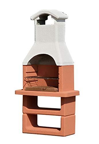 Beton Barbecue Carbone PREFABBRICATO in Cemento CM.L90xP59xH184