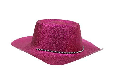 Glitter Chapeau de cowboy rose [Jouet]