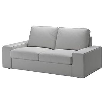 KIVIK Loveseat Cover Orrsta Light Gray 2 Seater Sofa Slipcover ONLY