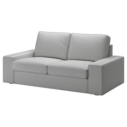 IKEA KIVIK Loveseat Cover Orrsta Light Gray 2 Seater Sofa Slipcover ONLY