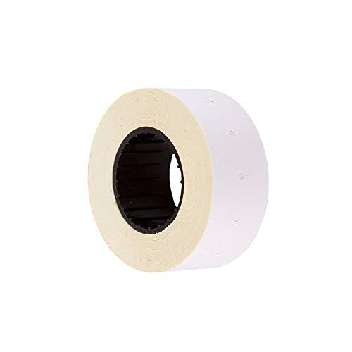 (10 rollos) Blanco 21 x 12 mm Papel de color Adhesivo Precio Pistola Etiquetas de marcador de precio MX-5500