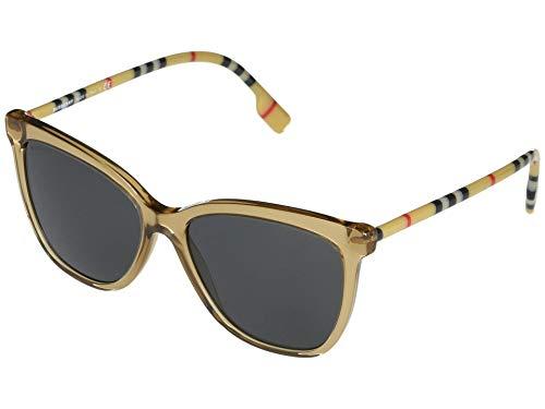 Burberry Occhiali da sole BE4308 385687 TRANSPARENT BROWN occhiali Donna colore Marrone lente grigio taglia 56 mm