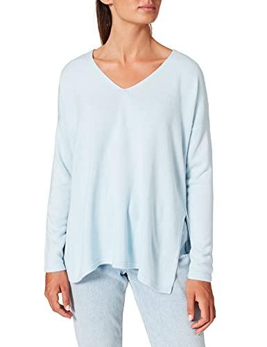 Only Onlamalia L/S V-Neck Pullover CC Knt Sudadera, Color Azul, XS para Mujer